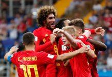 Бельгия - Япония (3:2): обзор матча 02-07-2018