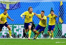 Швеция - Швейцария (1:0): обзор матча 1/8 чемпионата мира 03-07-2018