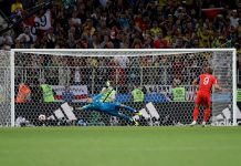 Колумбия — Англия* 1:1 (по пенальти — 3:4): обзор матча 1/8 финала чемпионата мира 03-07-2018