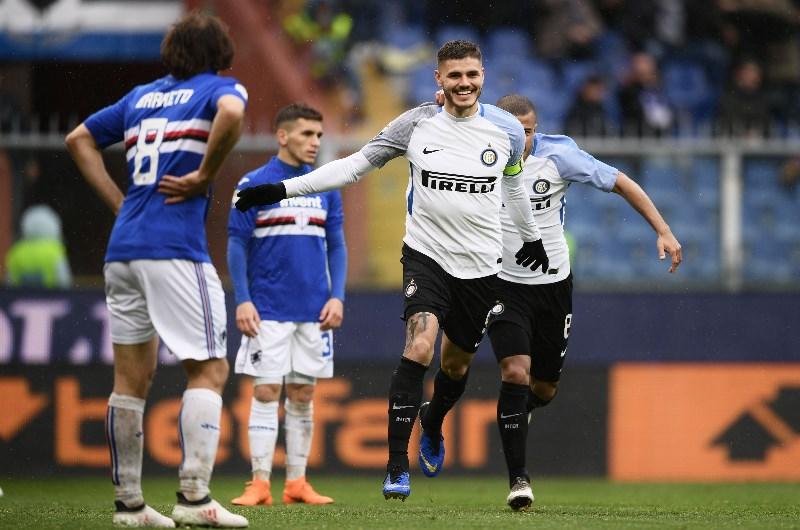 Сампдория — Интер: результативная игра с голом Икарди