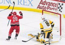 Каролина - Питтсбург прогноз на матч НХЛ 20.03.1029
