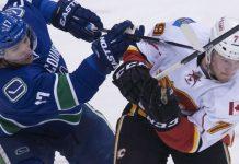Ванкувер - Калгари прогноз на матч НХЛ 24.03.2019