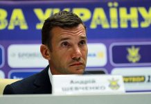 Андрей Шевченко сборная Украины