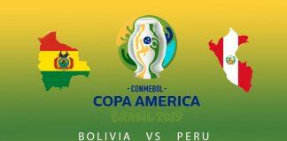 Боливия - Перу прогноз на матч Копа Америки 19.06.2019